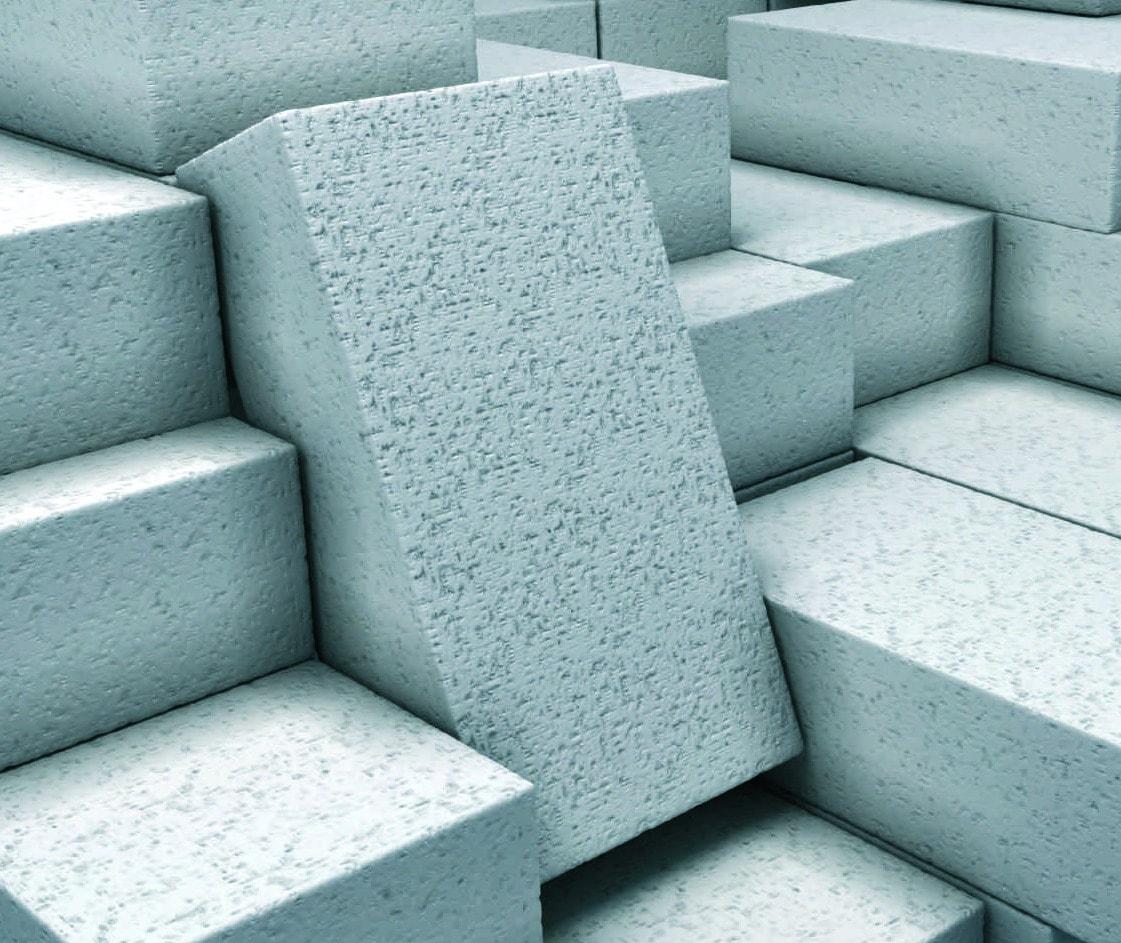Перегородка из ячеистого бетона